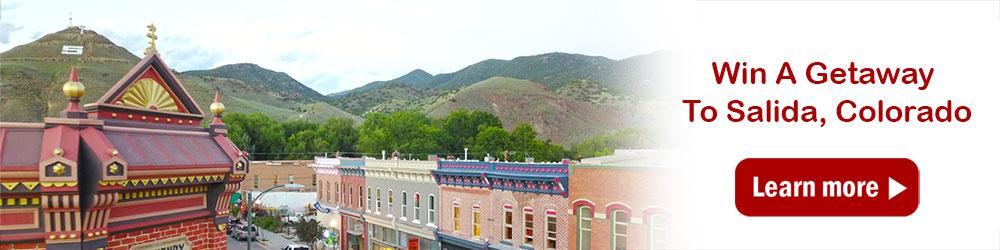 Win A Getaway To Salida, Colorado