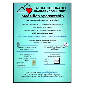 Salida Chamber of Commerce Medallion Sponsorship Program