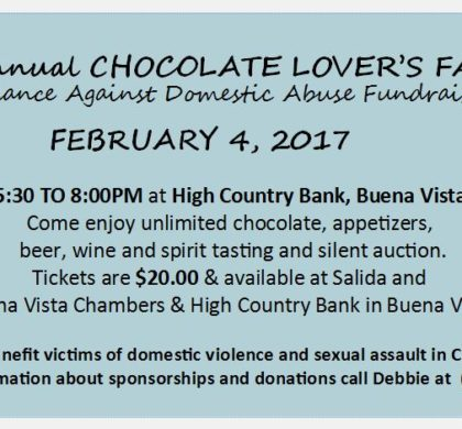 Alliance Against Domestic Abuse Chocolate Lovers Fantasy – February 4