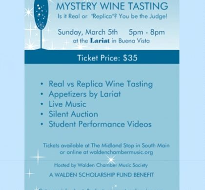 Walden Chamber – Mystery Wine Tasting