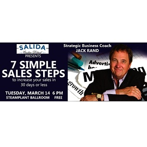 Creative District 7 Simple Sales Steps Presentation – March 14