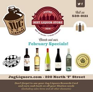 Arlie Dale's Jug Liquors – February