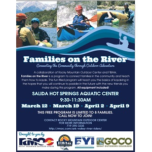 RMOC – Families on the River – March 12 & 19, April 2 & 9