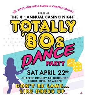Boys & Girls Club of Chaffee County – Casino Night – April 22