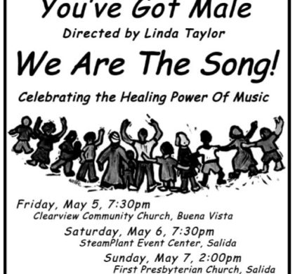 "The Noteables and You've Got Male – ""We are the Song"" – May 5, 6, 7"
