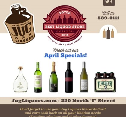 Arlie Dale's Jug Liquors – April