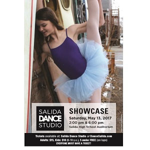 Salida Dance Studio – Showcase – May 13