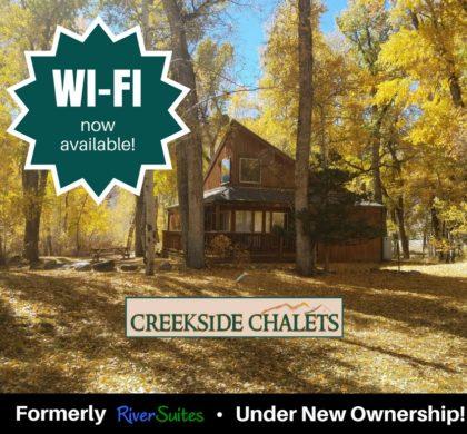 Creekside Chalets – June