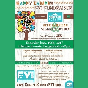 Happy Camper F.Y.I. Fundraiser – June 10