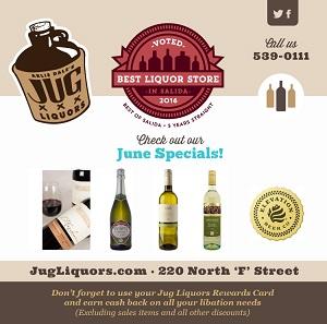 Arlie Dale's Jug Liquors – June