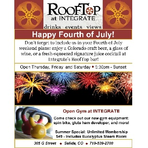 RoofTop at INTEGRATE – July 4
