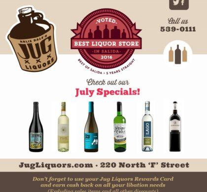 Arlie Dale's Jug Liquors – July