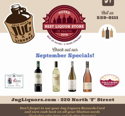 Arlie Dale's Jug Liquors – September
