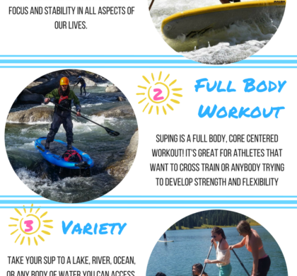 Dvorak Expeditions – 5 Reasons to Stand Up Paddle Board