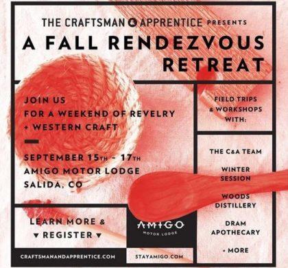 Amigo Motor Lodge – Fall Rendezvous Retreat – September 15-17