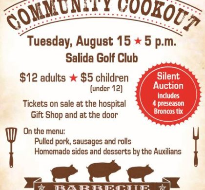 HRRMC Auxiliary Community Cookout – August 15