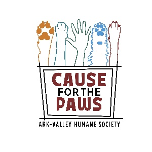 Cause for the Paws: 3rd Annual Fundraising Event for the Ark Valley Humane Society – October 20