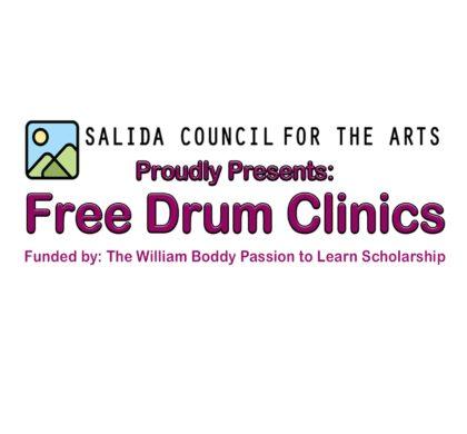 Articipate presents: 6 free, interactive Drum Clinics! – October 15, 22, 29 & November 5,12,19