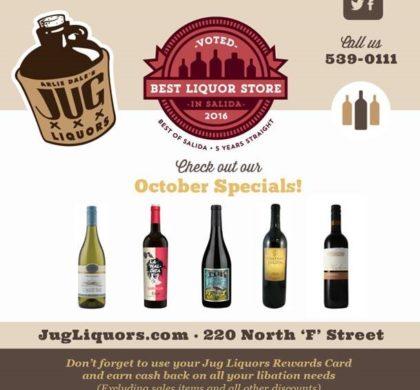 Arlie Dale's Jug Liquors – October