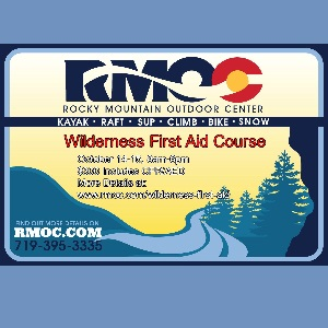 RMOC- Wilderness First Aid Course – October 14 & 15
