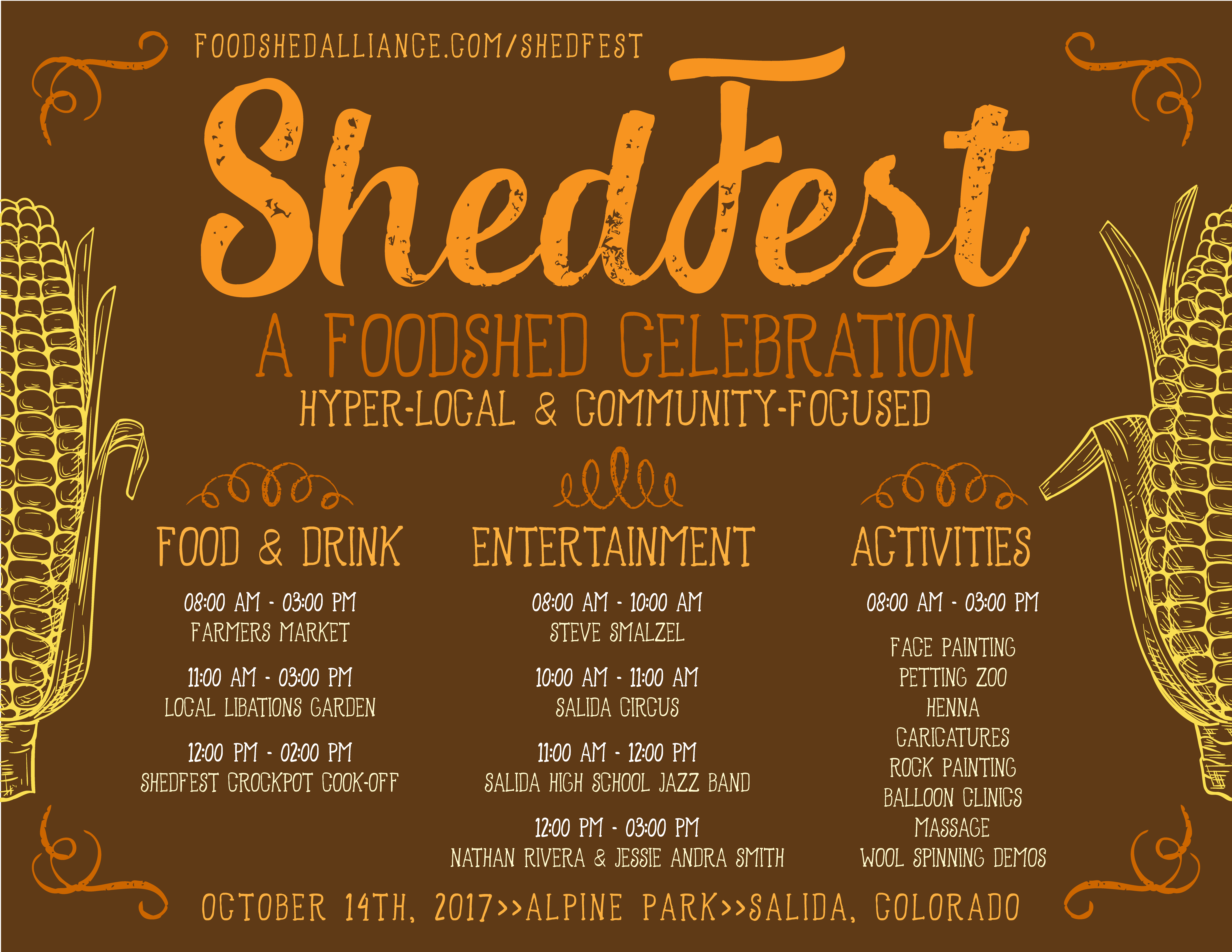 ShedFest 2017 – October 14