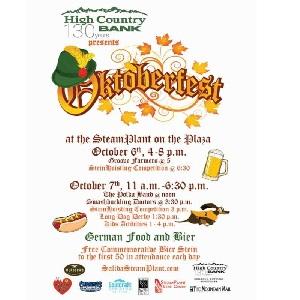 High Country Bank presents Oktoberfest – October 6 & 7