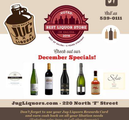 Arlie Dale's Jug Liquors – December