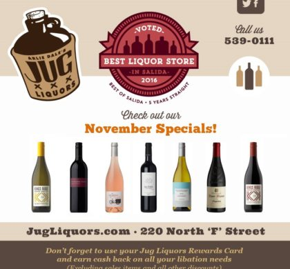 Arlie Dale's Jug Liquors – November