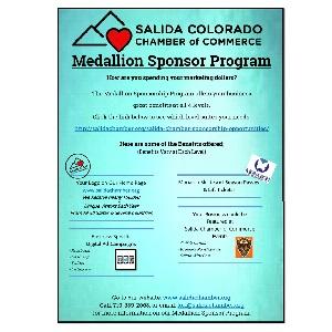 Salida Chamber of Commerce Medallion Sponsor Program