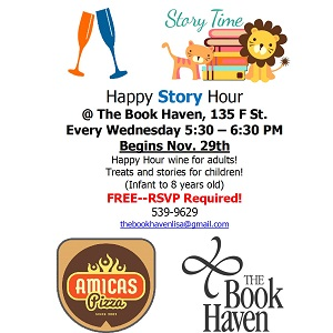 The Book Haven – Happy Story Hour – Every Wednesday