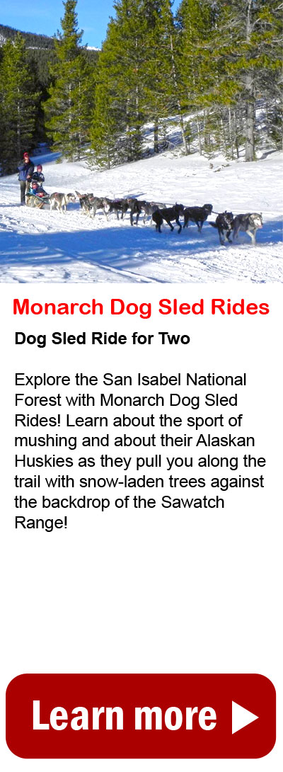 Monarch Dog Sled Rides