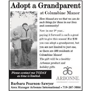 Arbonne – Barbara Pearson-Sawyer – Adopt a Grandparent