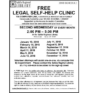Free Legal Clinic – February 14