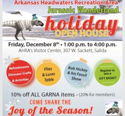 Arkansas Headwaters Recreation Area- Jurassic Wonderland – December 8