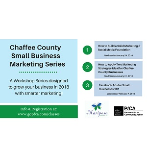 Sellars Project Space – Chaffee County Small Business Marketing Series – February 7