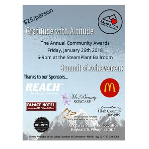 Salida Community Awards – January 26