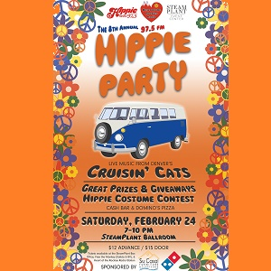 8th Annual Hippie Party – February 24