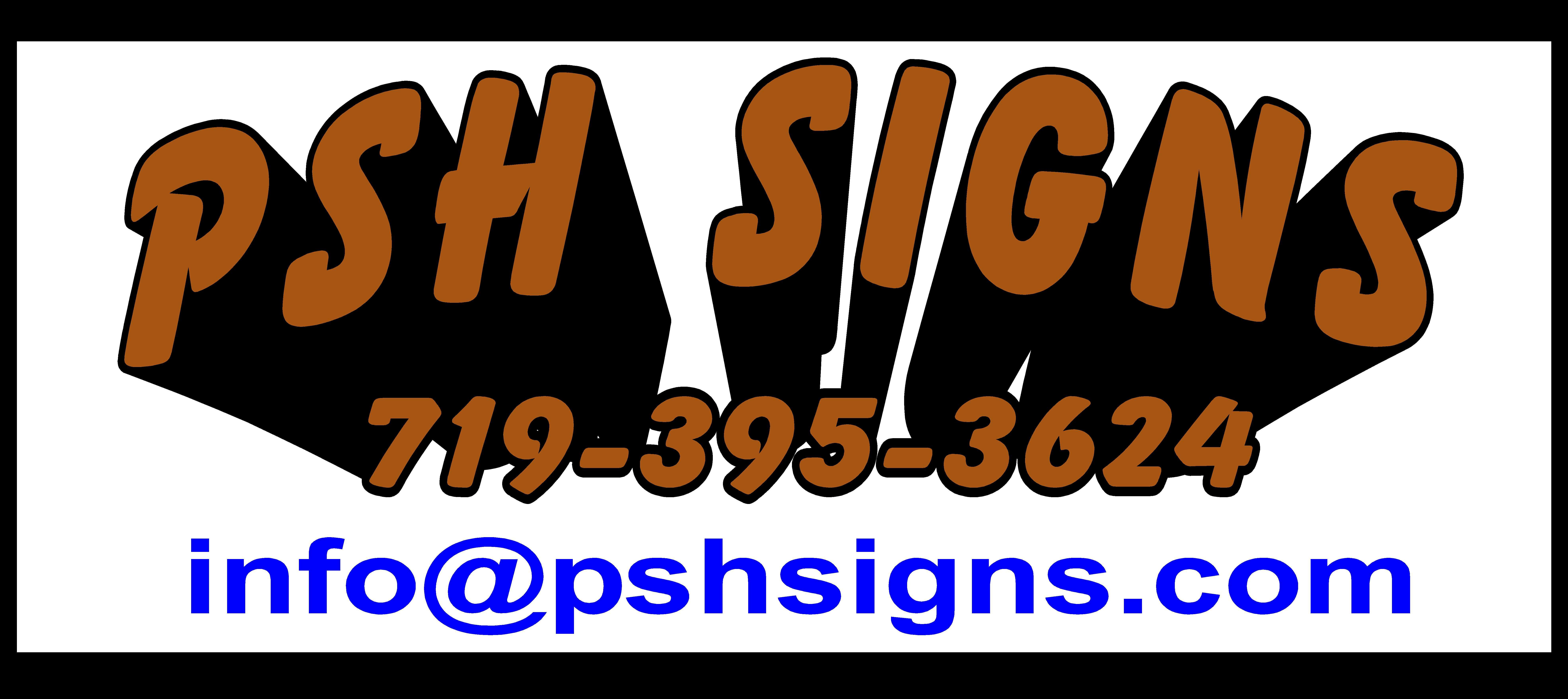 PSH Signs