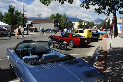 Salida Colorado Event - Salida Car Show