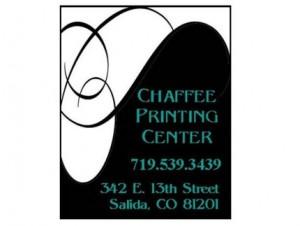 Chaffee Printing Center