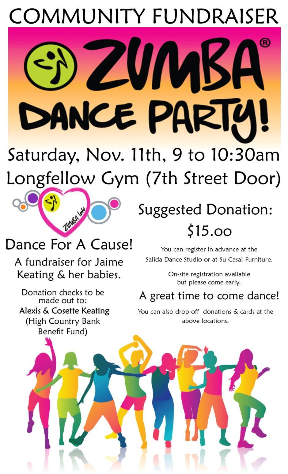 Zumba Christmas Party Images.Zumba Dance Party Community Fundraiser Salida Chamber Of