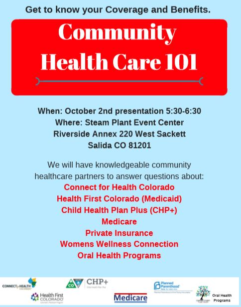 Community Health Care 101 - Salida Chamber of Commerce
