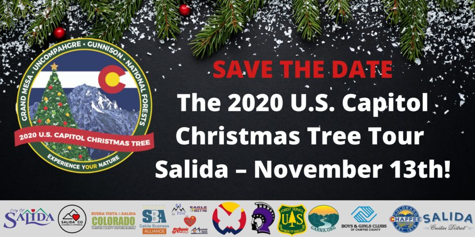 2020 Us Capitol Christmas Tree Salida Chamber of Commerce   Colorado visitor and business